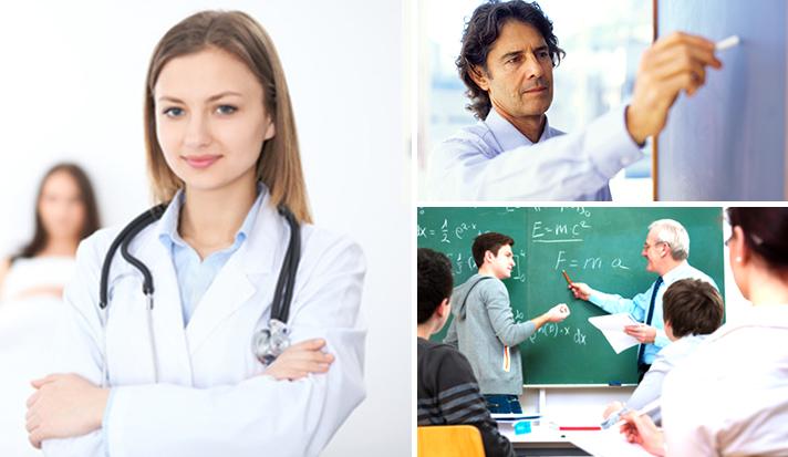 cursos acreditados de sanidad y educación